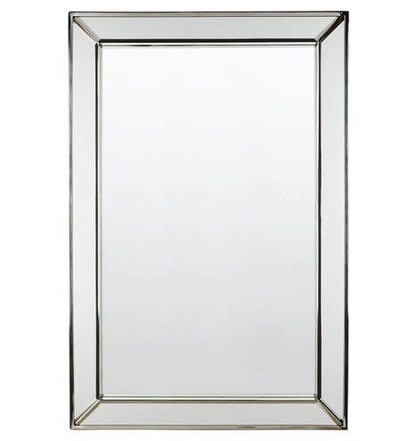 beaded frame mirror this generous scaled beveled mirror beveled frame mirror powder polished nickel and products
