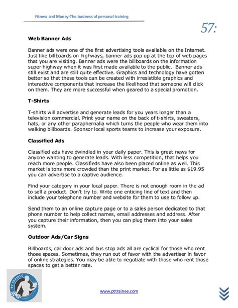 Fitness And Money Personal Cancellation Policy Template
