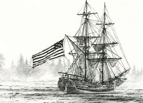 Buy Duvet Cover Online Lady Washington At Friendly Cove Drawing By James Williamson