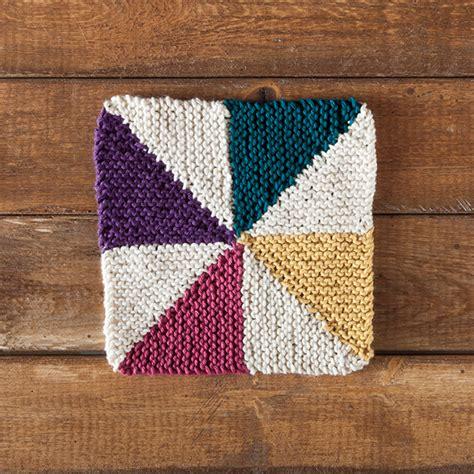 Free Dishcloth Pattern Pinwheel Dishcloth Knit Picks