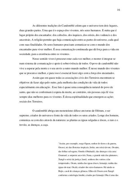 Candomblé e educação