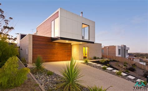 sloping land house designs sloping block house designs geelong split level home