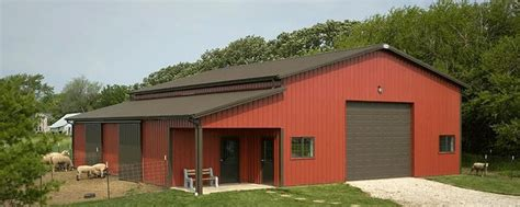 suburban building profile use hobby livestock barn for 4