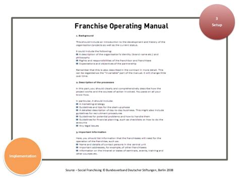 franchise manual template patri 05 implementation at scale a guide for scaling