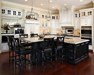 black kitchen island this want black island and white cupboards in next