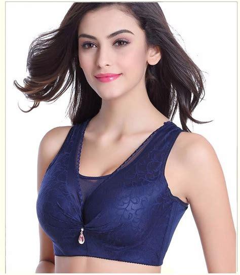 comfortable plus size bra thin plus size big bra large cup mm vest design underwear