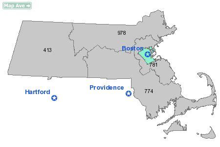 us area code massachusetts 617 area code map