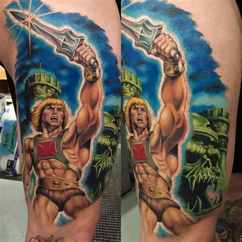he man i have the power best tattoo design ideas