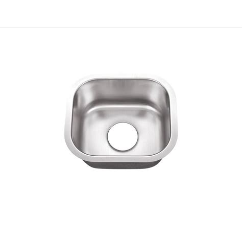 foret undermount stainless steel 14 1 2 in 0