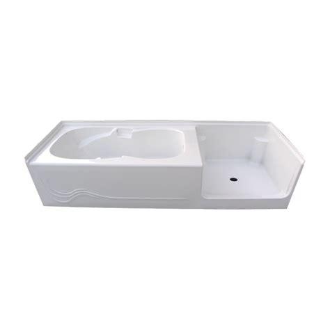 acrylic bathtub shower combo paliser soaker tub shower unit 8 ft glass world