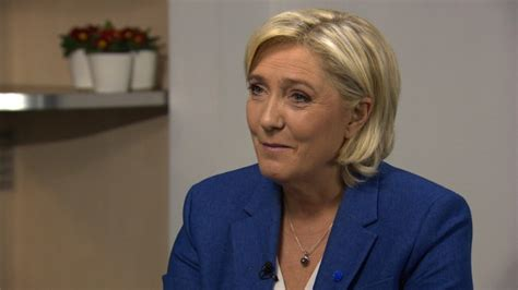 marine le pen marine le pen declares candidacy for french presidency