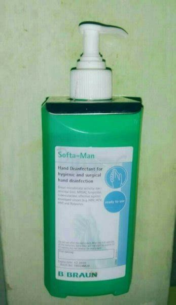 jual promo akhir  original softa man hand sanitizer antiseptic bbroun ml  lapak