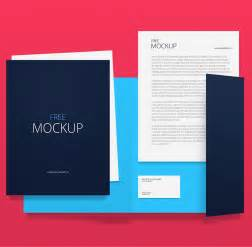 mockup template psd corporate identity branding stationery mockup