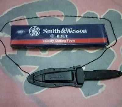 Pisau Smith Wesson jual beli pisau kalung smith n wesson kode sw 611 baru