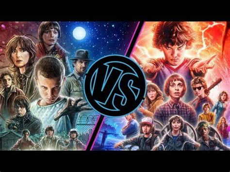 film seri stranger things stranger things season 1 vs season 2 movie feuds youtube