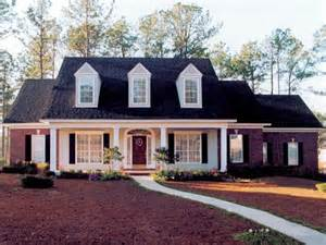 cape house designs 1950 cape cod brick front brick home with sweeping front