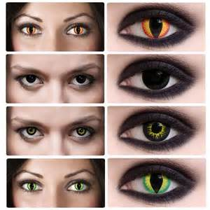 scary colored contacts i found this amazing creepy sfx contact lenses
