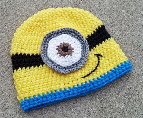 pattern crochet minion hat special 1 50 minion hat by kim210 craftsy