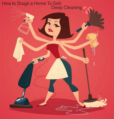 deep cleaning staging a home to sell deep cleaning rose womble