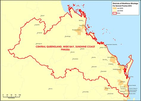 central coast australia map department of health central queensland wide bay