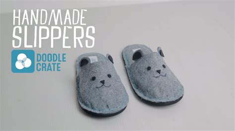 how to make slippers make your own felt slippers