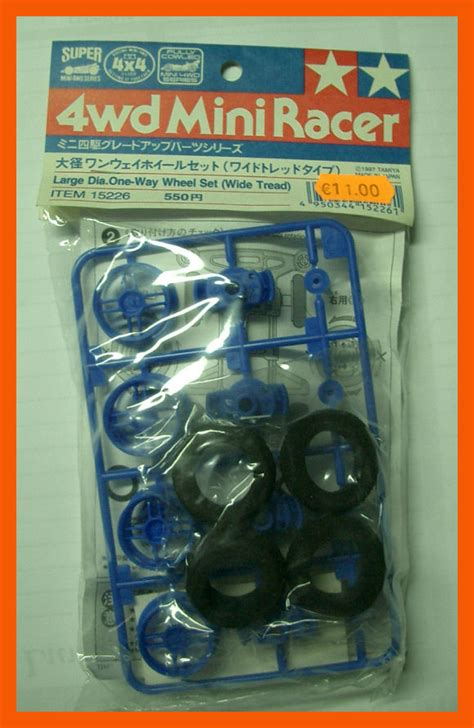 Large Dia One Way Wheel Set mini4wd