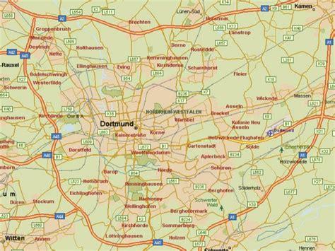 dortmund map of germany dot germany dortmund map 4