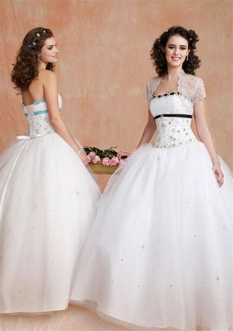 Lovely Sweet White lovely strapless sweet 16 dressestulle with bead and