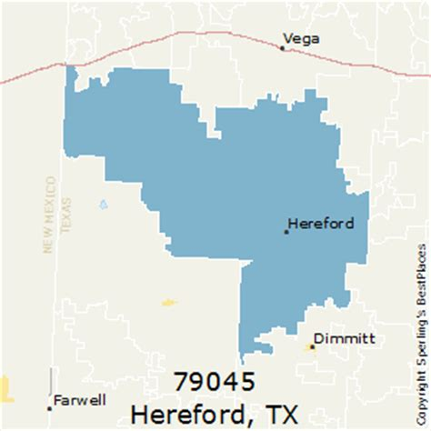 hereford texas map best places to live in hereford zip 79045 texas