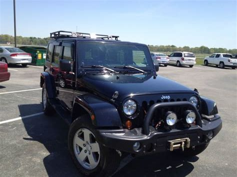 Jeep Wrangler Unlimited Upgrades Find Used 2007 Jeep Wrangler Unlimited Winch