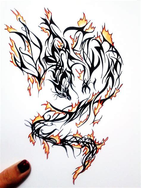 fire tattoo design