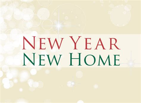 New Year New Home news andrew morris estate agents hereford