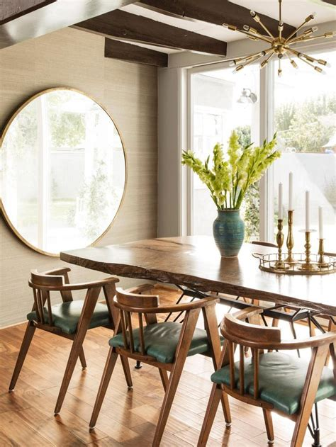 59020 round mirror in dining room dining room transitional 1000 images about oversized round mirrors on pinterest