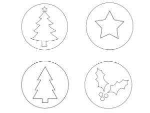 plantillas decoracion navidad plantillas de navidad para imprimir manualidades