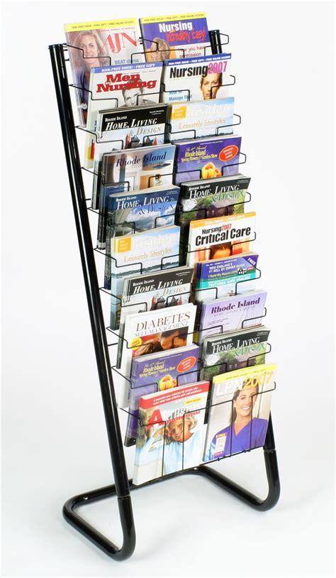 paper rack floor standing paper display rack 20 pockets