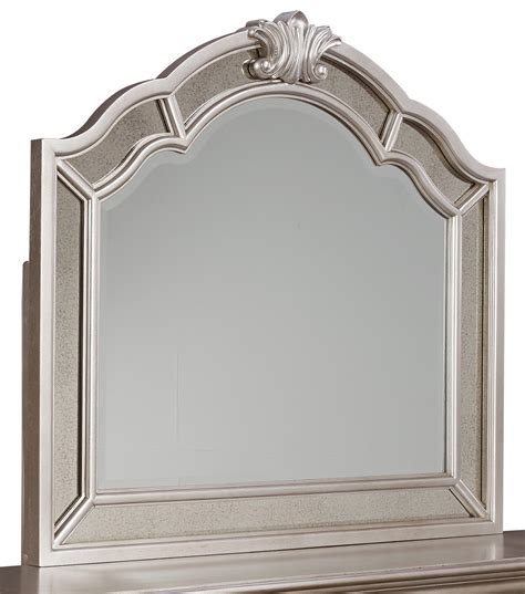 silver mirrors for bedroom birlanny silver bedroom mirror b720 36 ashley