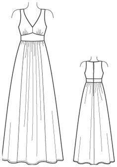 Maxi Longdress Lipat dress outline www pixshark images galleries