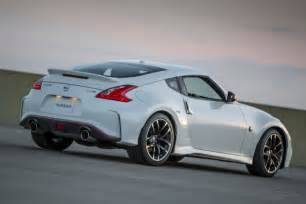 nissan sports car 370z price nissan holds steady on 2017 370z pricing the fast lane car