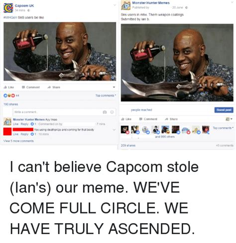 Ascended Meme - 25 best memes about monster hunter memes monster hunter