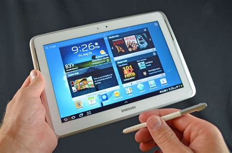 Tablet Samsung Note samsung galaxy note 10 1 tablet unboxing review