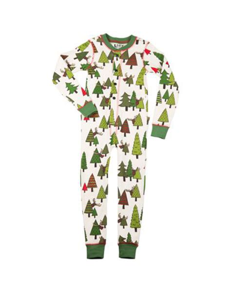 family matching christmas tree pajamas set adults baby