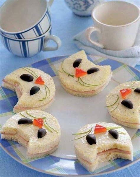 Kindergeburtstag Essen Ideen by Kindergeburtstag Essen Mit Katze Sandwichen Coole Kinder