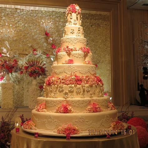 Wedding Cake In Jakarta by 8 Tiers Le Novelle Cake Jakarta Bali Wedding Cake