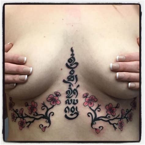 under breast tattoo instagram 65 sizzling under breast tattoos you ll drool over page
