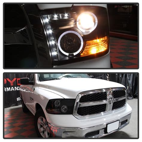 Dr09 White Limited spyder 2009 2016 dodge ram 1500 headlights