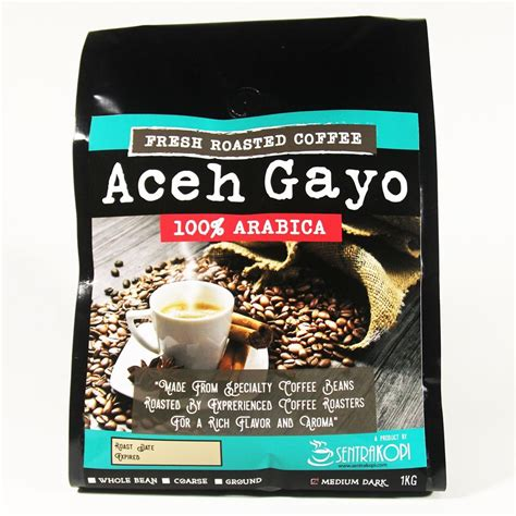 Kopi Robusta Aceh Gayo 250gr 1 kopi arabika aceh gayo bubuk dan biji toko kopi