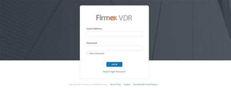 where is the firmex login page firmex knowledge base