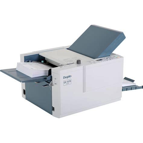 Printer That Folds Paper - desktop duplo df 1200 a3 suction fed paper folding machine