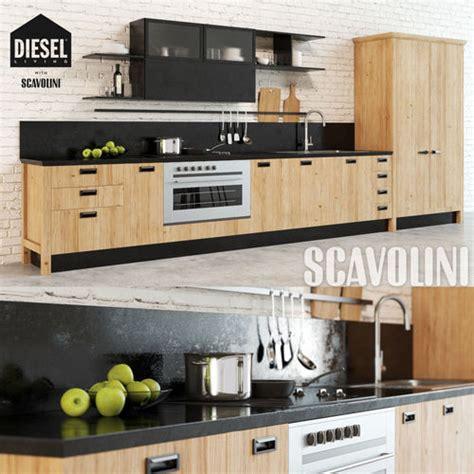 scavolini kitchen cabinets scavolini diesel kitchen 3d cgtrader