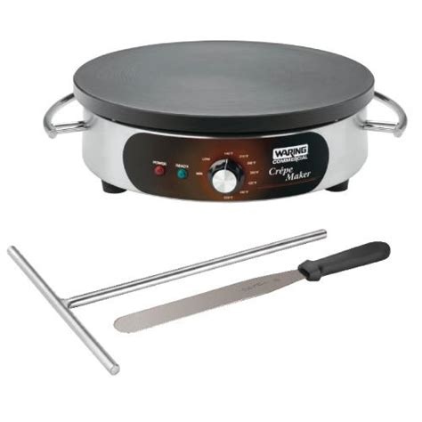 Bistro Crepe Maker waring wsc160x 16 in electric crepe maker etundra